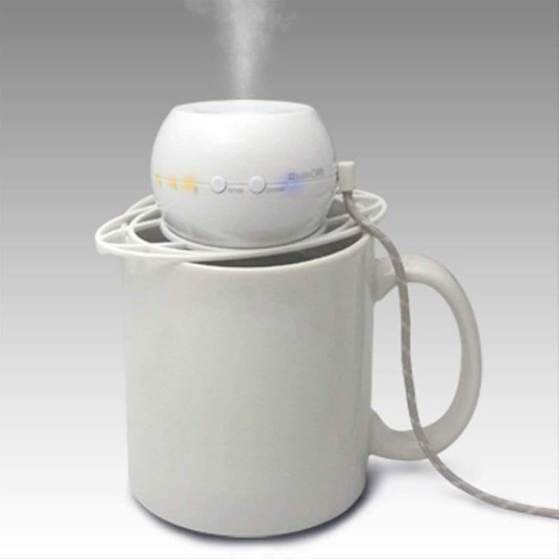 トップランド,ボトル加湿器オーブ ホワイト,M7012WE
