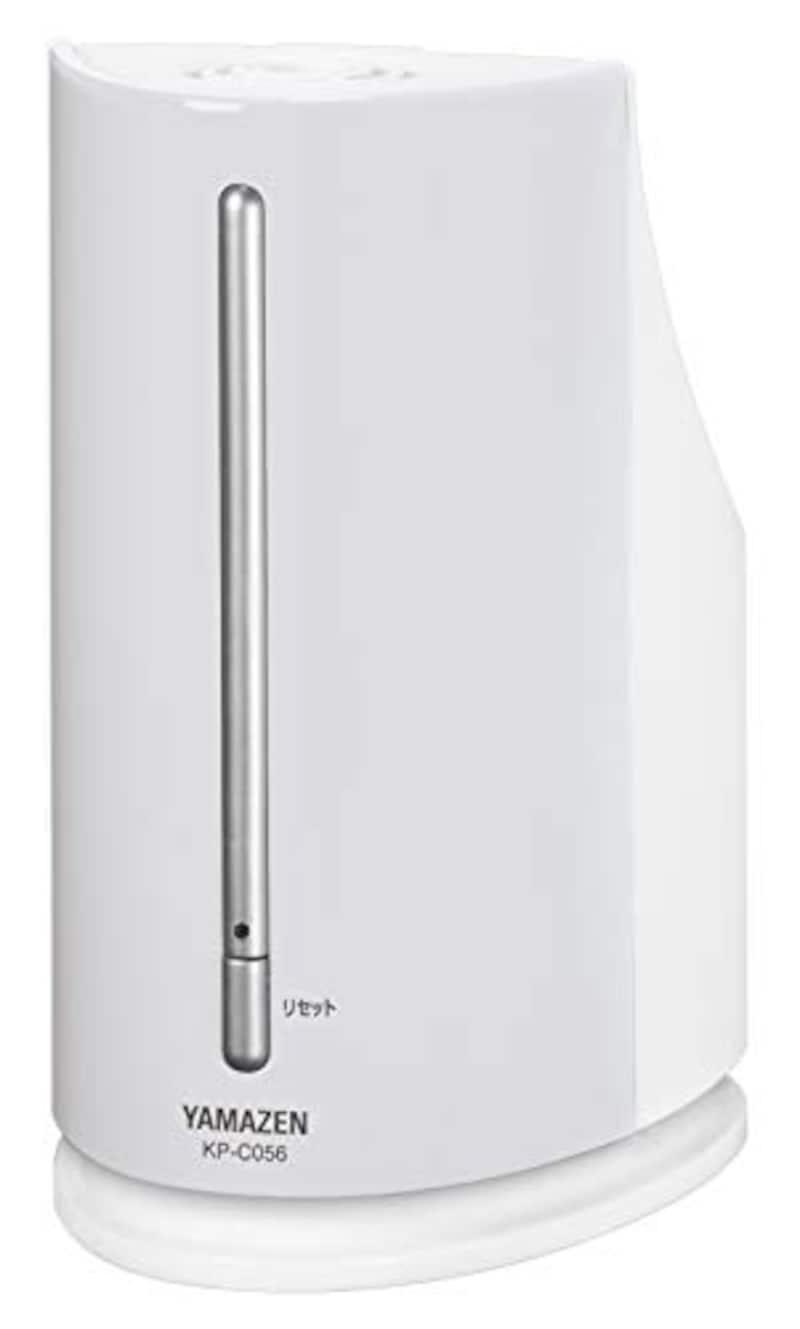 山善(YAMAZEN),ペットボトル式加湿器 アロマポット付,KP-C056(W)