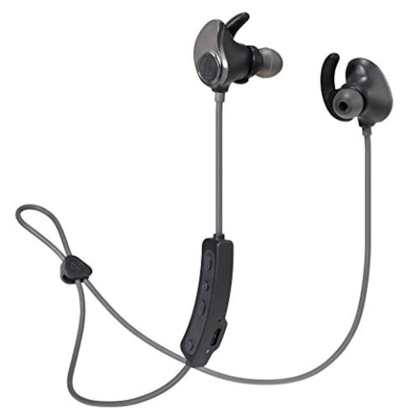 Audio Technica(オーディオテクニカ),SONICSPORT ワイヤレスイヤホン,ATH-SPORT90BT BK