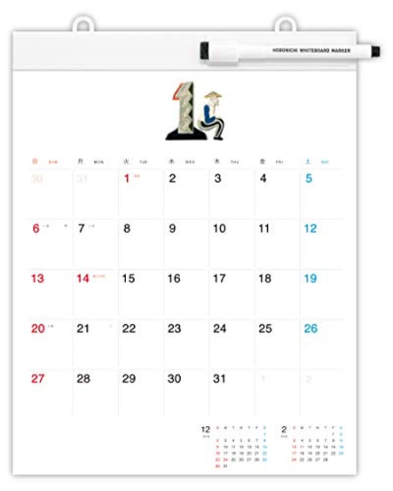 ほぼ日,ホワイトボードカレンダー2019,GCL1901N00200