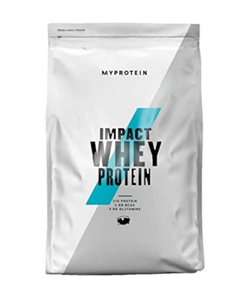 Myprotein マイプロテイン ,Impact ホエイプロテイン