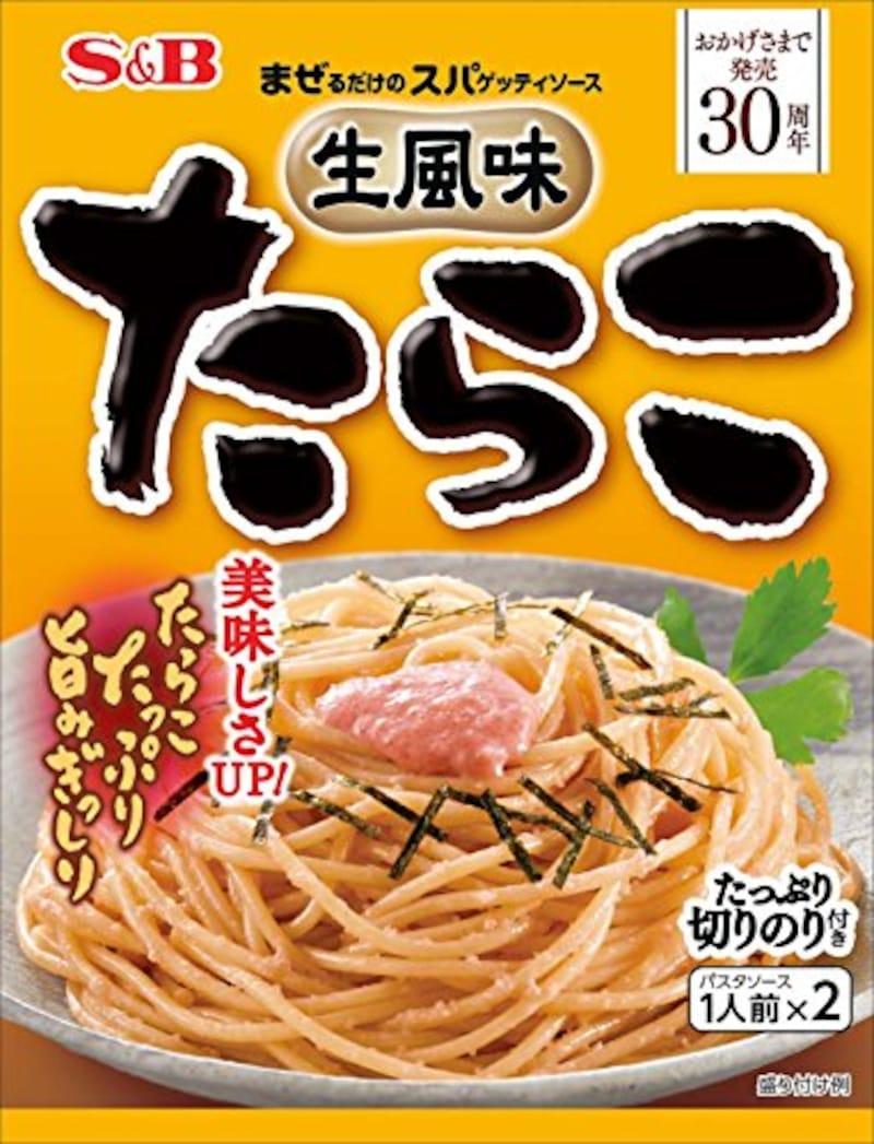 S&B食品,生風味スパゲッティソース たらこ