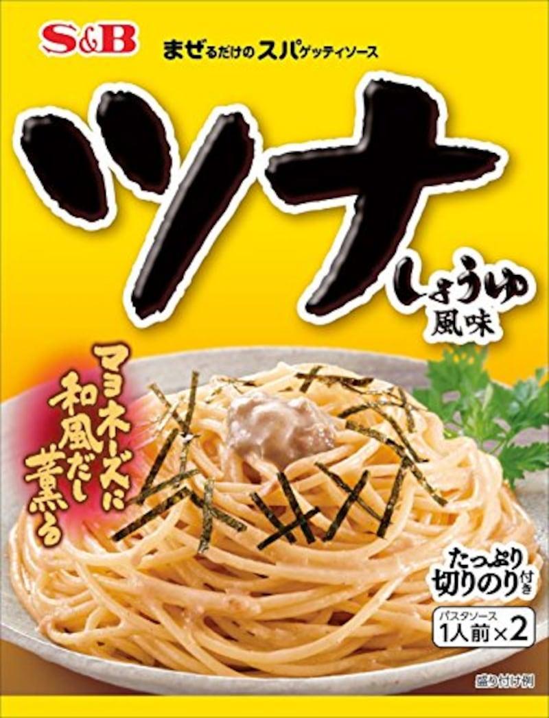 S&B食品,生風味スパゲッティソース ツナしょうゆ風味