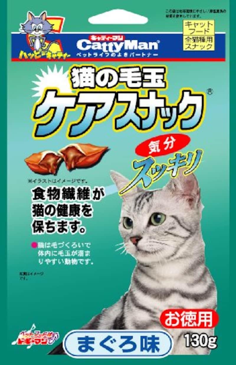 ドギーマンハヤシ,猫の毛玉ケアスナック お徳用 まぐろ味130g