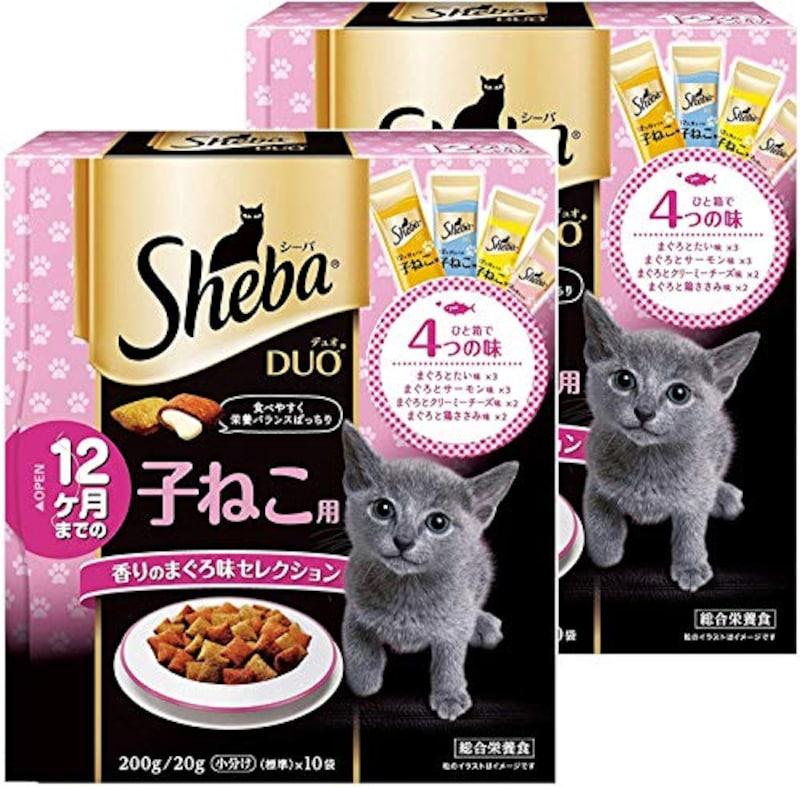シーバ (Sheba),キャットフードデュオ 12ヶ月までの子猫用