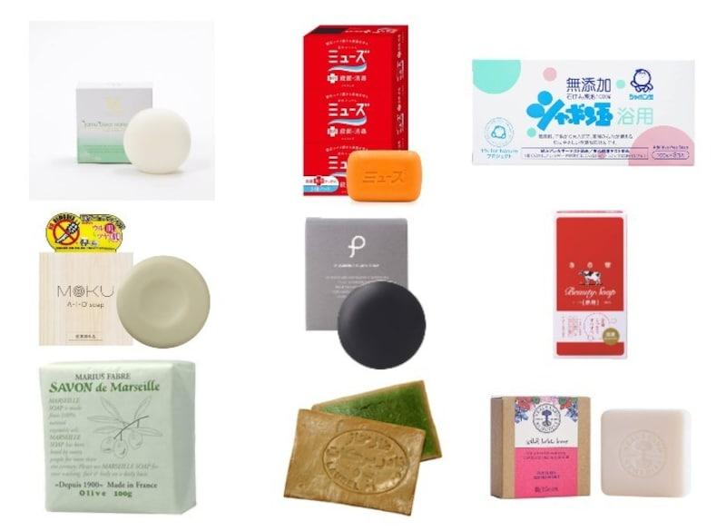 固形石鹸おすすめ人気ランキング23選|洗顔や手洗い、身体用、シャンプーも!保管や泡立てに便利な商品も紹介!
