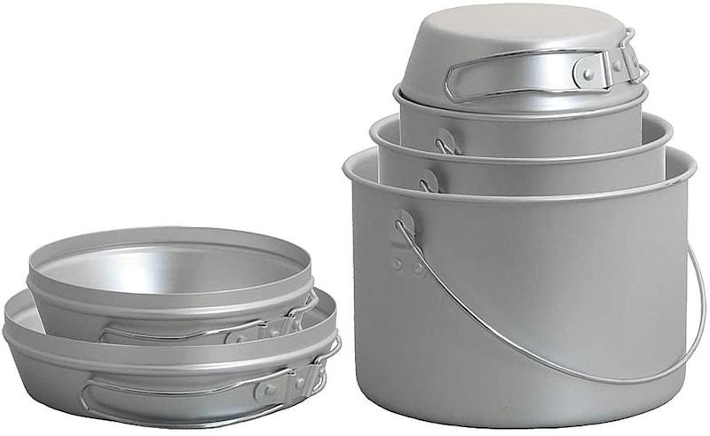 ダグ(DUG),焚火缶 3点セット,DG-0103
