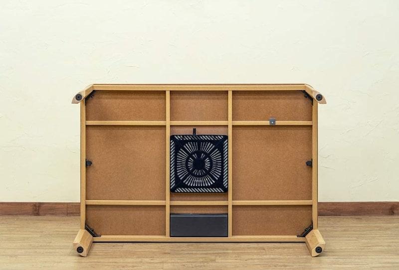 SKB(サカベ),継脚式家具調こたつ ナチュラル,MYK-120NA