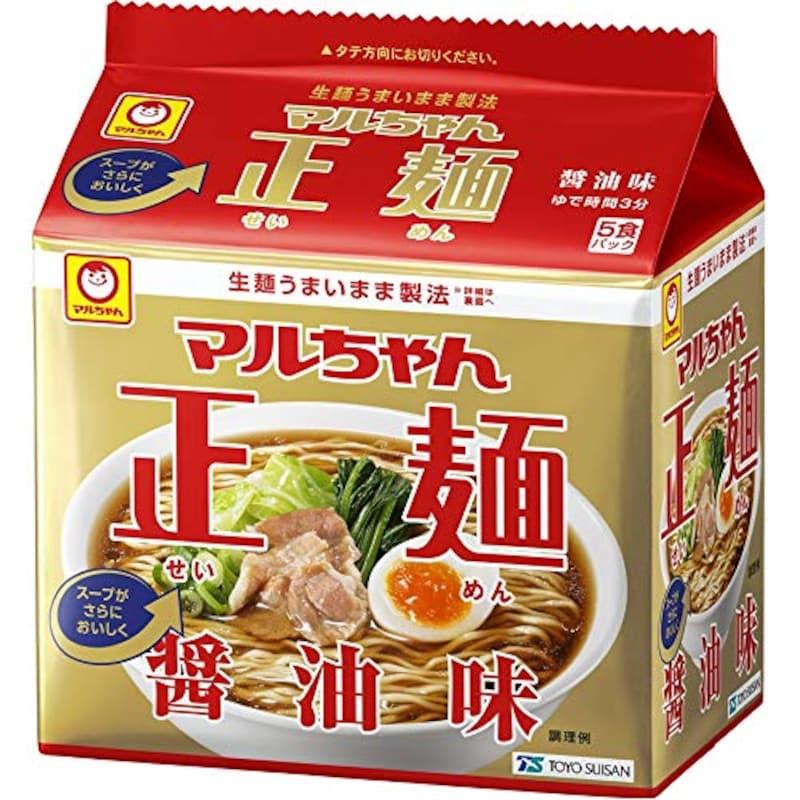 東洋水産,マルちゃん正麺 醤油味