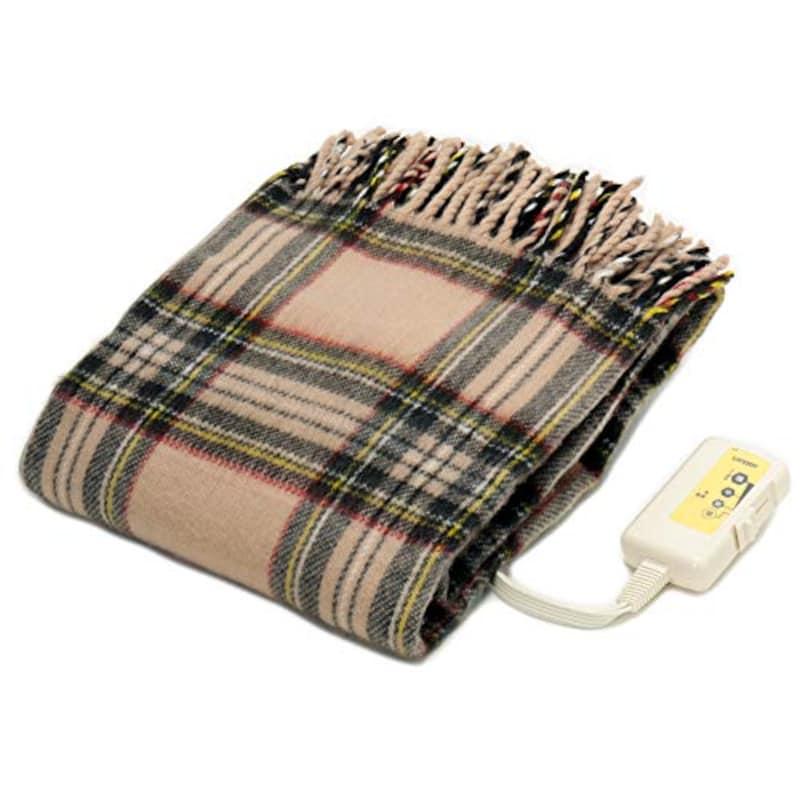 LIFEJOY,電気ひざ掛け 肩掛け 掛け毛布,JPN161CC