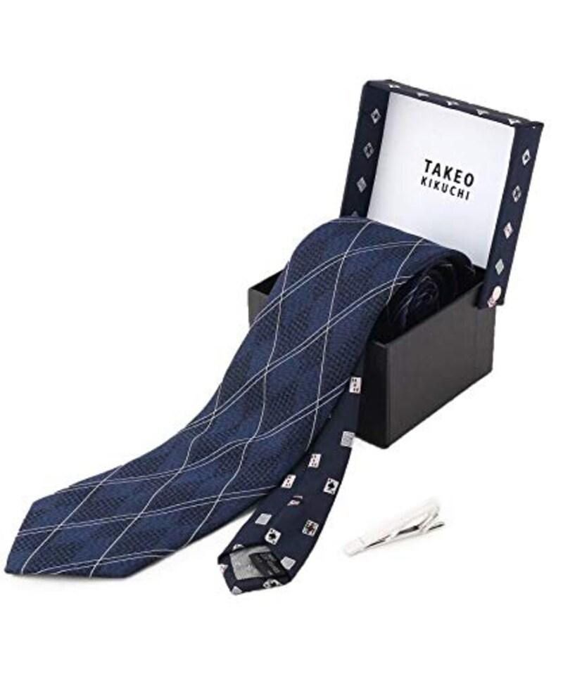 TAKEO KIKUCHI,ネクタイ BOXセット,37101103