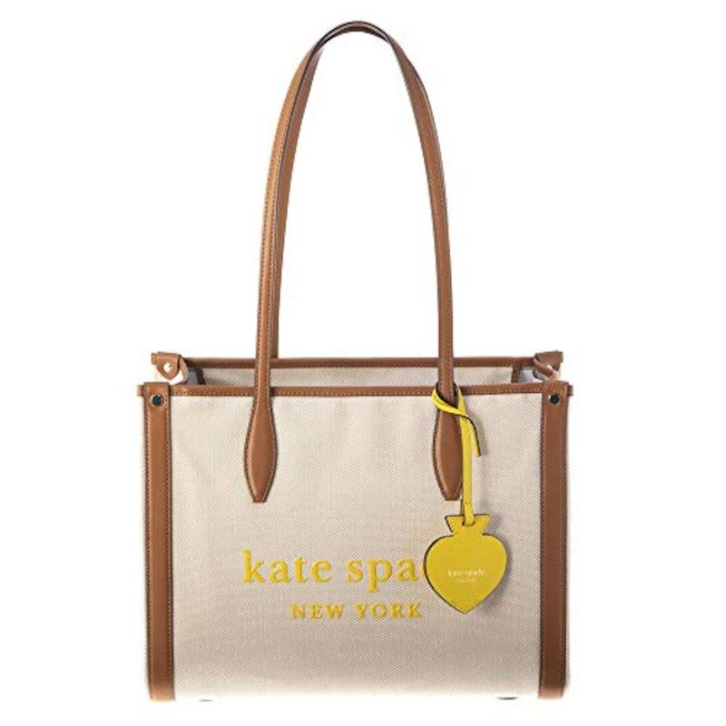 Kate spade,MARKET CANVAS ミディアムトート,PXRUB293 290