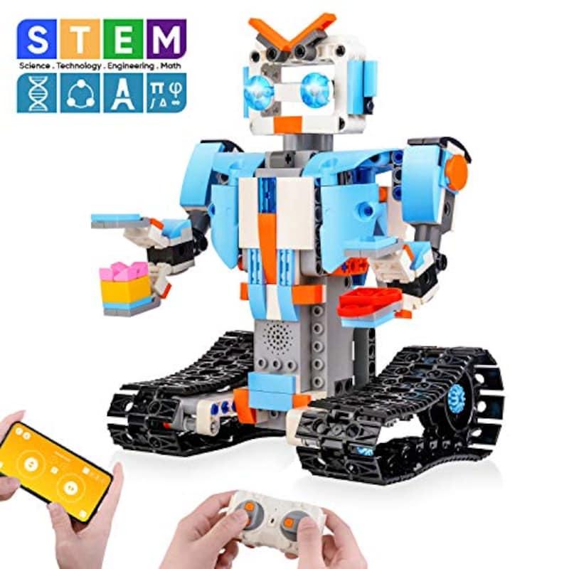 Sillbird STEM,ブロック建築ロボット