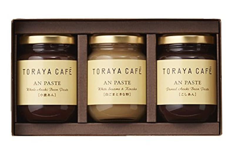 株式会社 虎屋,TORAYA CAFE あんペーストS3入  (こしあん・白ごまときな粉・小倉あん)
