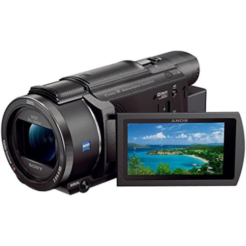 SONY(ソニー),ビデオカメラ,FDR-AX60 4K