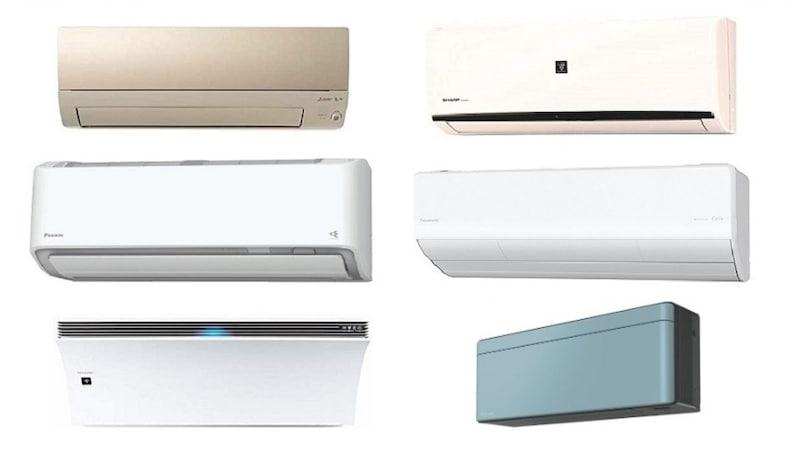 【2021年】6畳用エアコンおすすめランキング20選|工事費込みの最新製品や寝室にも嬉しい価格の安い型落ち省エネ製品まで