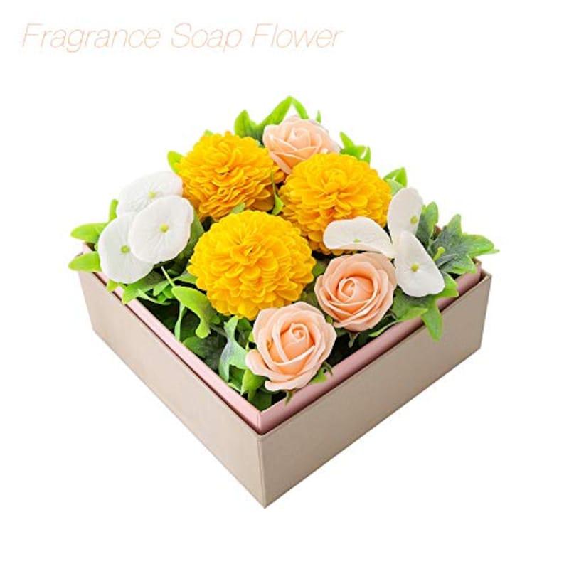Weeksweet,ソープフラワー  薔薇&菊