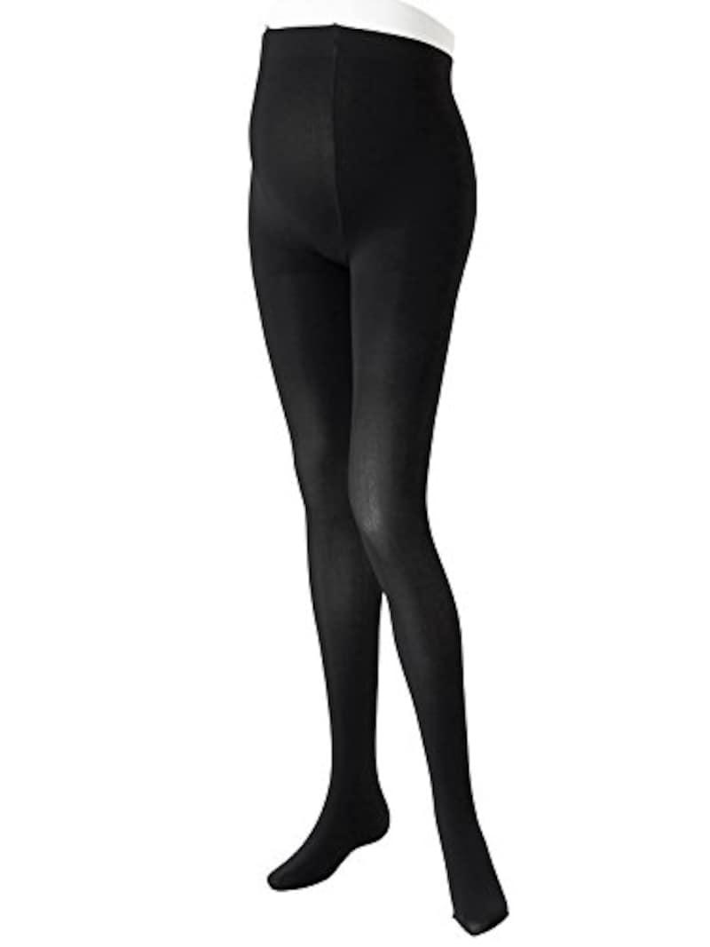 ローズマダム, 濃いブラックで見た目すっきり&ほっそり マタニティタイツ