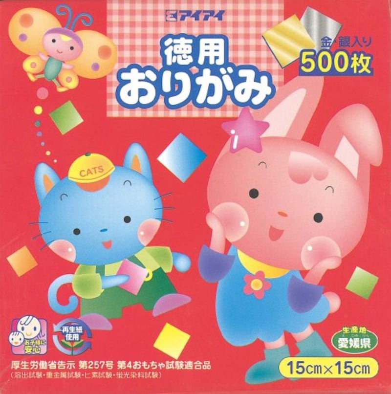 エヒメ紙工,徳用おりがみ,KTO-500