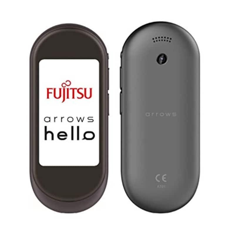 富士通,arrows hello  AT01 マルチ通訳機 墨(SUMI),ATMD01002
