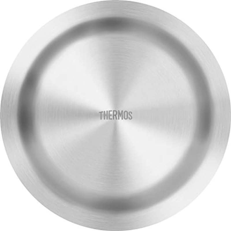 サーモス(THERMOS),アウトドアシリーズ 皿 真空断熱ステンレス深型プレート