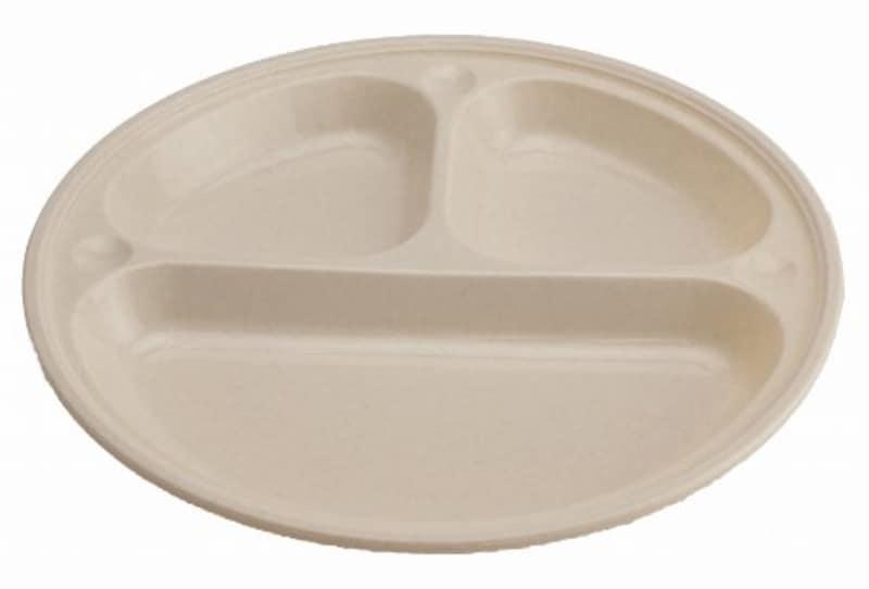 キャプテンスタッグ(CAPTAIN STAG),BBQ用 皿セット 抗菌仕切付プレート