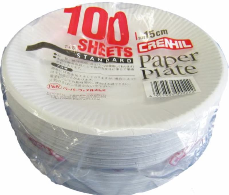 ペーパーウェア(Paperware),スタンダード紙プレート