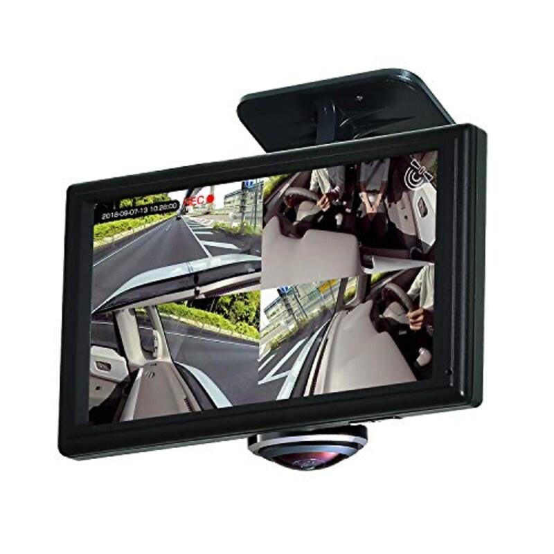 SEIWA(セイワ),360度ドライブレコーダー 全方位カメラ,pdr650sv