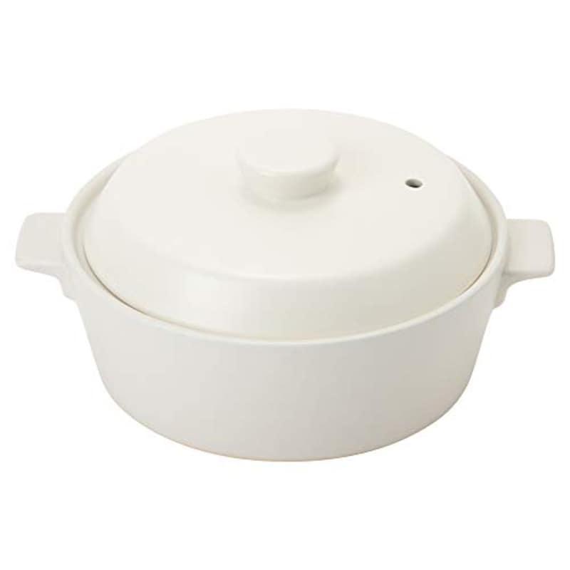 TAMAKI,土鍋 コーナー 1~2人用 ホワイト,T-885208