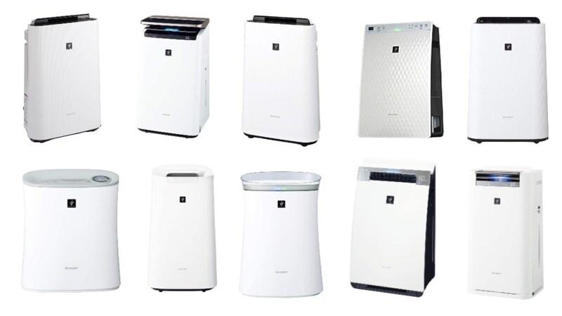 シャープ空気清浄機おすすめ人気ランキング10選|プラズマクラスター/加湿器付きの過去モデルも!