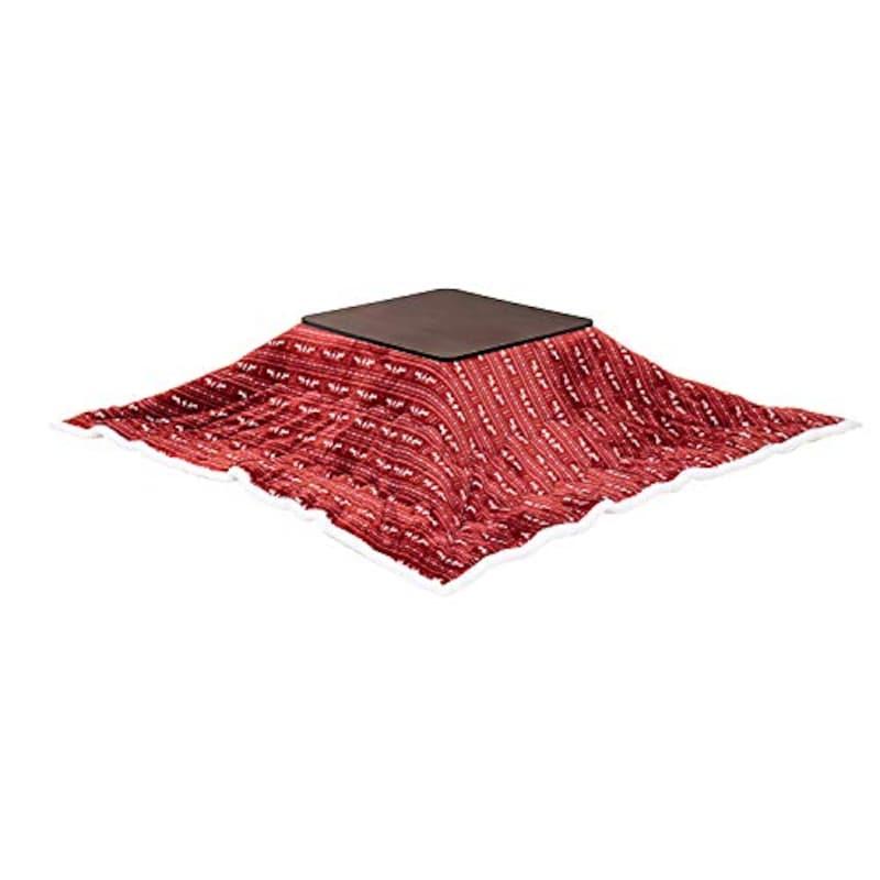 モダンンデコ,正方形こたつテーブル ふとんセット