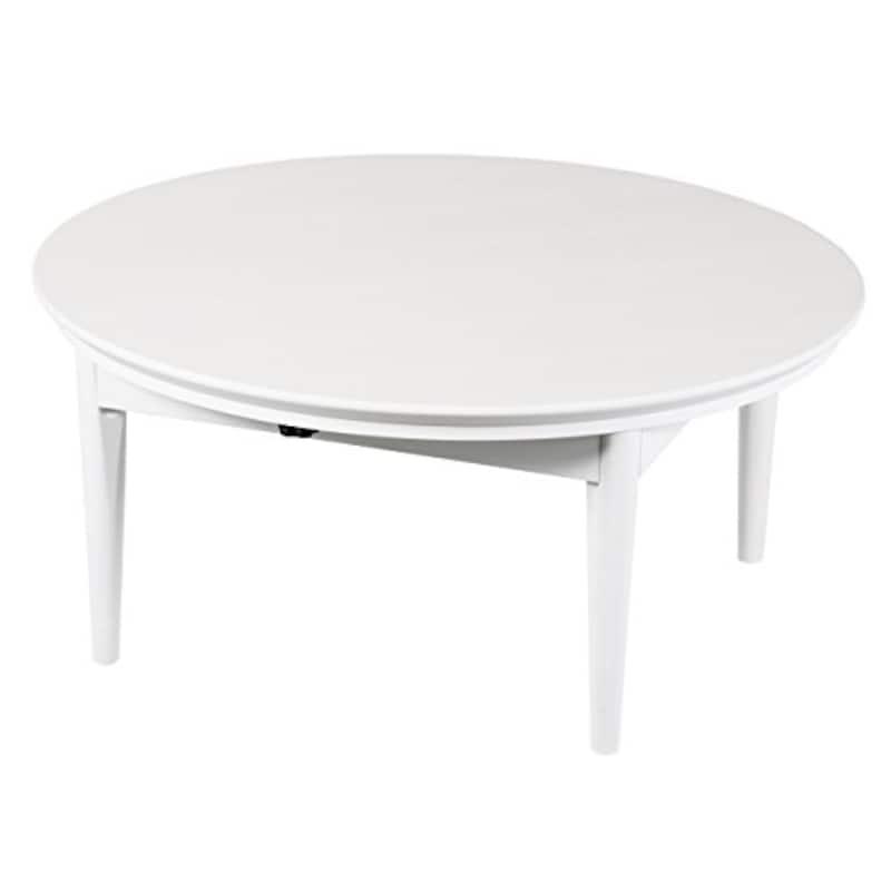 カナムラ,北欧デザインこたつテーブル コンフィ 90cm丸型