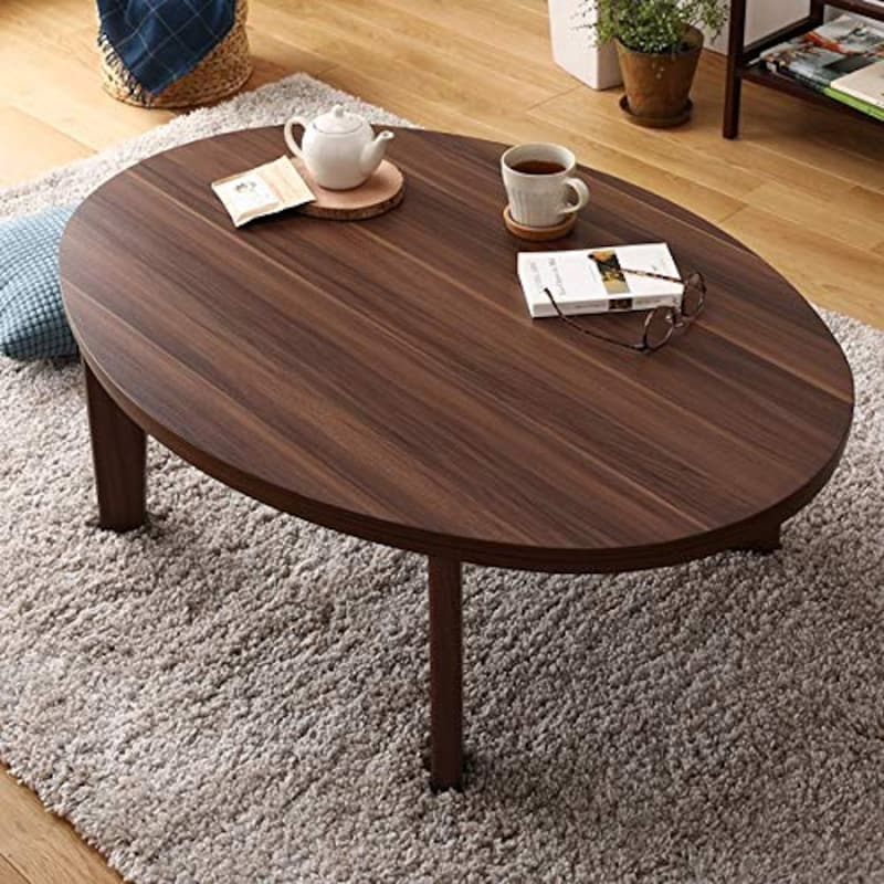 ベストバリュースタイル,楕円形 こたつテーブル