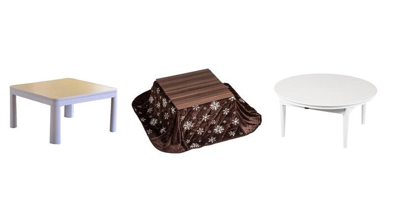 こたつテーブルおすすめ人気ランキング21選 正方形や長方形、おしゃれな白色も!