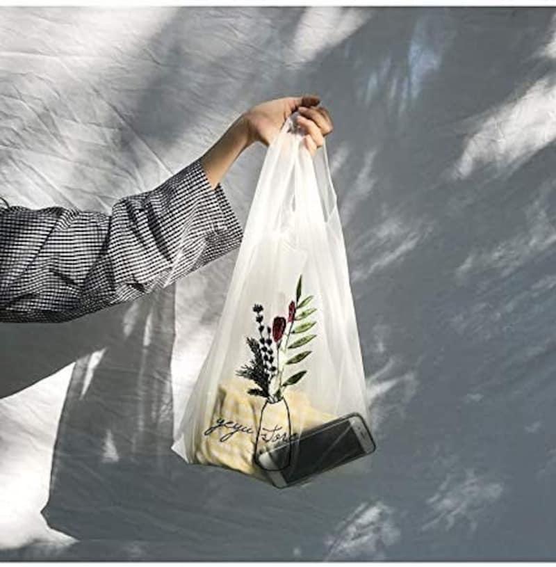 Natty & Company,透け感フラワーバッグ