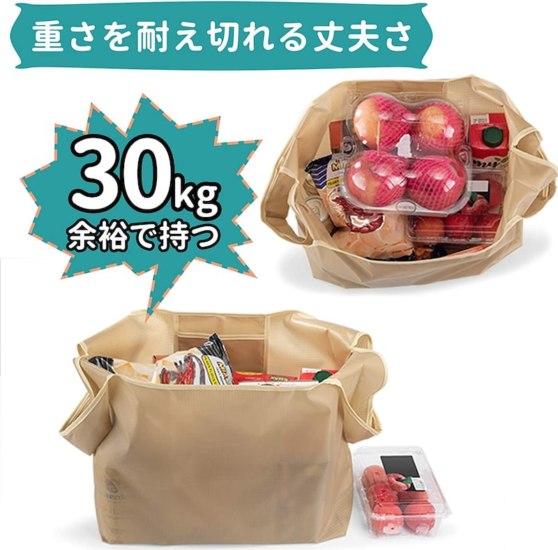 Faunow,3枚セット コンパクトバッグ