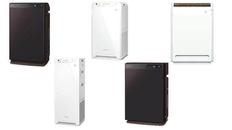ダイキン空気清浄機おすすめ人気5選+フィルター3選|加湿器付きの「MCK70W」や「MCK55」も