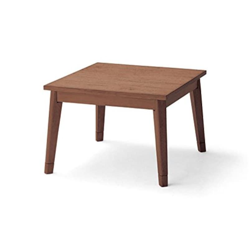 BELLE MAISON(ベルメゾン),こたつテーブル アンティーク仕上げのこたつ チャコールチェック タイプ