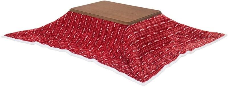 モダンデコ,長方形 こたつテーブル 継ぎ脚 布団セット ,ynd-004