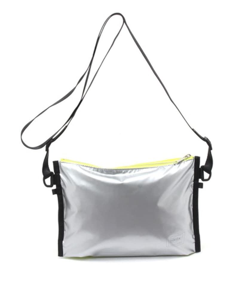 PORTER(ポーター)×GOOD OL'(グッドオル),メタリックサコッシュバッグ