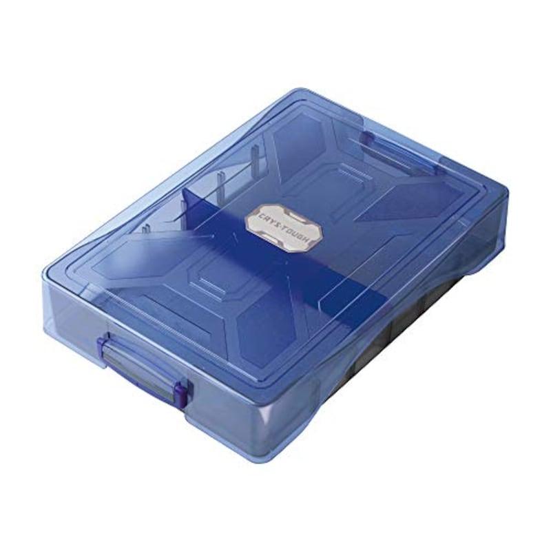 ソニック,お道具箱 割れにくい クリス・タフ ブルー,GS-1392-B