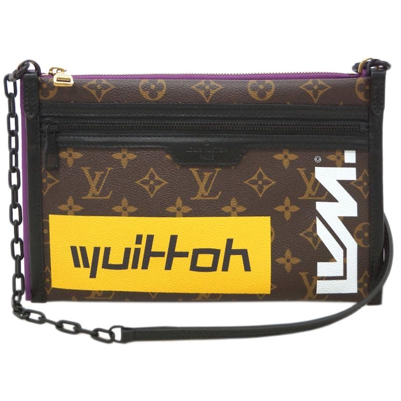 Louis Vuitton(ルイヴィトン),モノグラム フラット・メッセンジャー,M4 4641