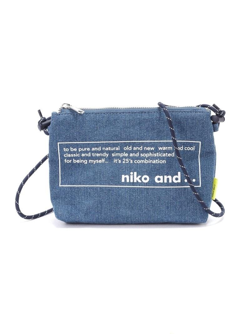 niko and…(ニコアンド),ニコロゴサコッシュ