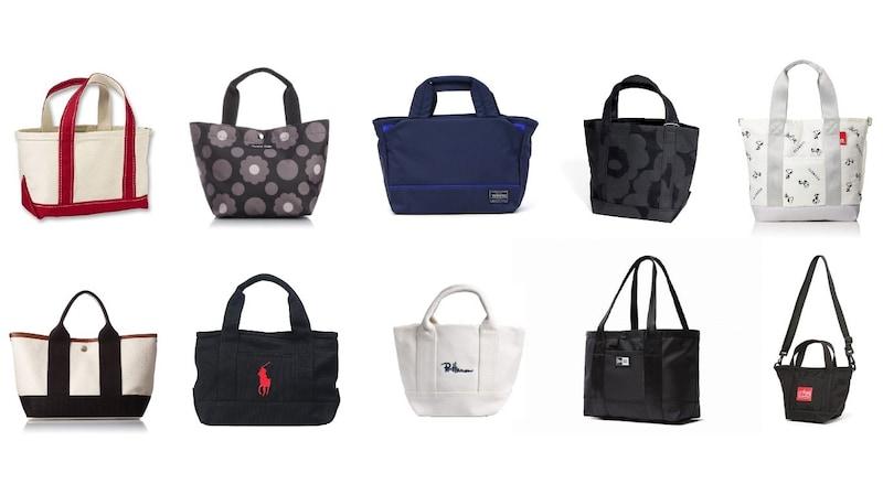 ミニトートバッグのおすすめブランドと人気40選|レディース・メンズのおしゃれ商品をランキング!作り方も紹介
