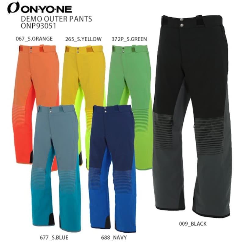 ONEYONE(オンヨネ),スキーウェア デモアウターパンツ