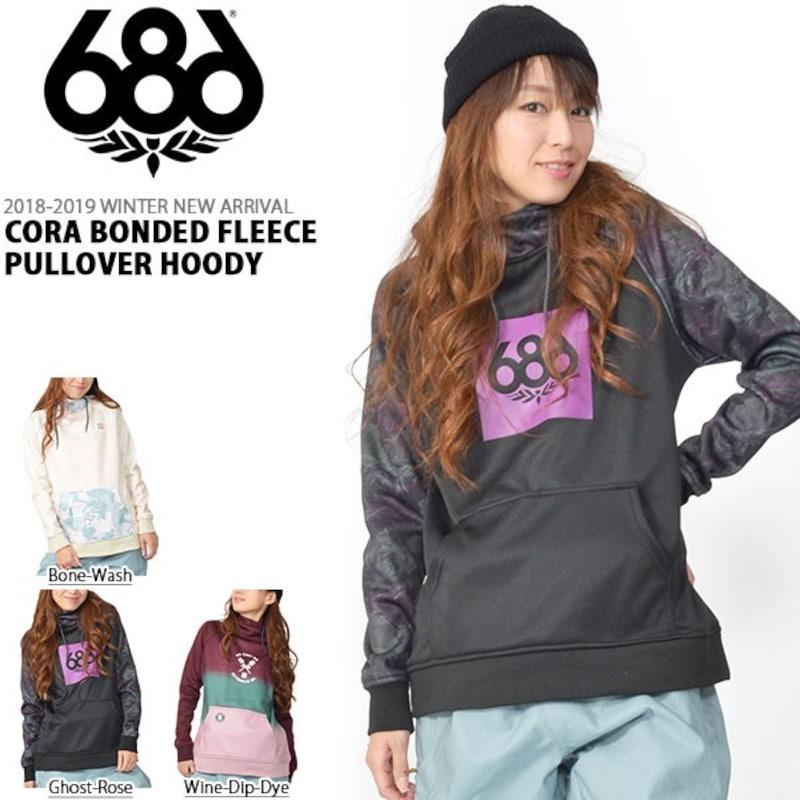 686(シックスエイトシックス),Cora Bonded Fleece Pullover Hoody