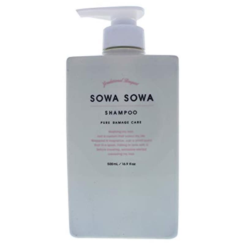 SOWASOWA(ソワソワ),ピュアダメージケアシャンプー