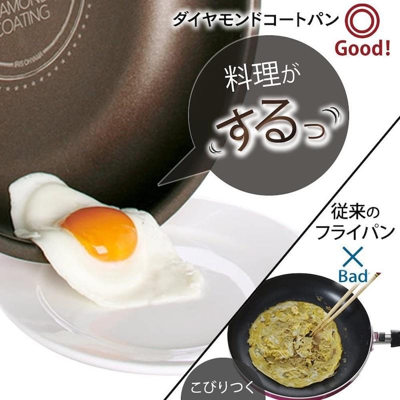 IRIS OHYAMA(アイリスオーヤマ),フライパン・鍋9点セット,H-IS-SE9