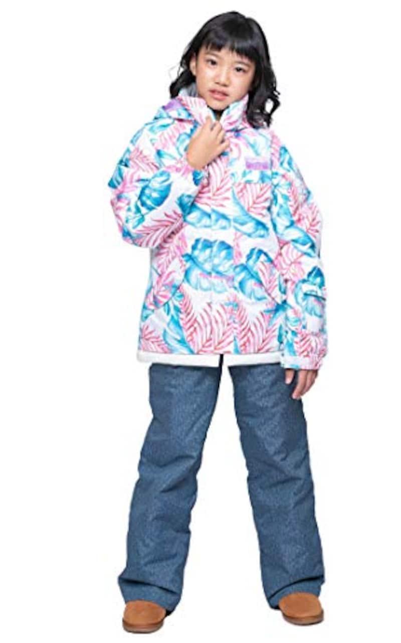 ONYONE(オンヨネ),RESEEDA(レセーダ)スキーウェア JUNIOR SUIT 上下セット(ガールズ),RES63001