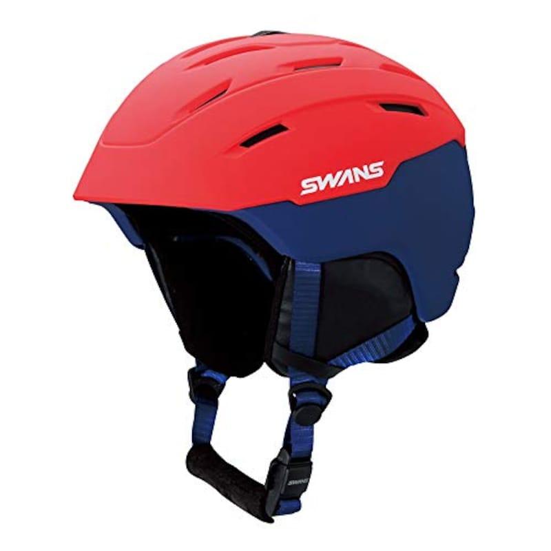 SWANS(スワンズ),ヘルメット フリーライド 開閉式ベンチレーション ダイヤル式サイズ調整,HSF-230